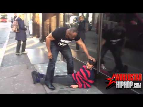 Funny - Security man KO tough guy [HD]