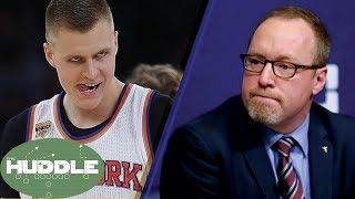 Knicks TRADING Porzingod!? Cavs Fire Griffin -The Huddle