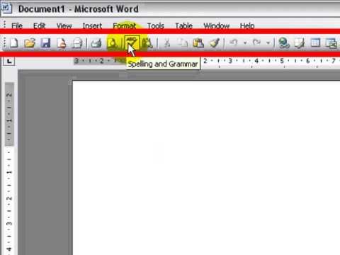 Using The Standard Toolbar Microsoft Word 2007
