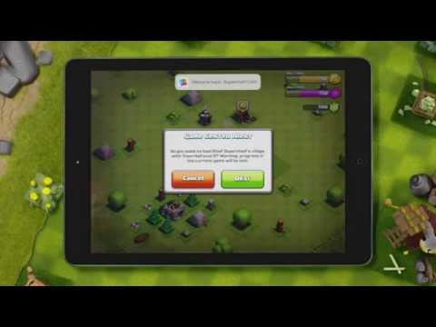 Clash of Clans  Save your Game Progress with Game Center iOS