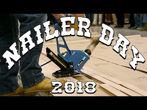 Nailer Day 2018 | Hardwood Floor Contractor Competition by City Floor Supply in King of Prussia