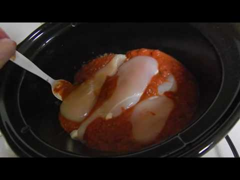 How to Make Chicken Taco Meat in a Crock Pot