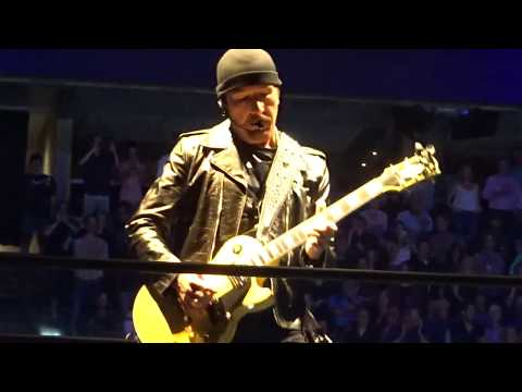 U2 - 2018 - Intro, Love Is All & The Blackout (HD) Boston 06-21-2018 (Filmed from GA Edge's Side)