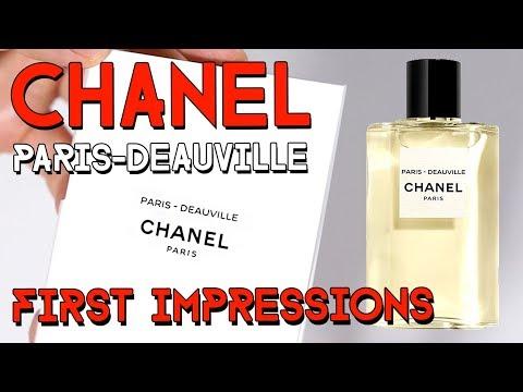 LES EAUX DE CHANEL - PARIS - DEAUVILLE - first impressions