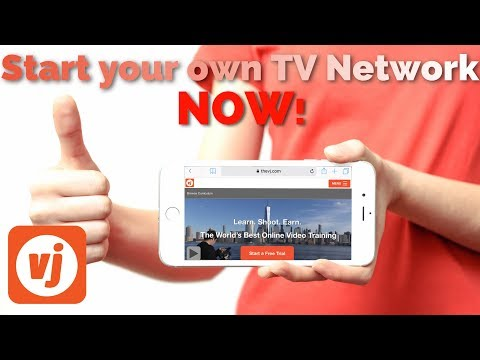 How To Start Your Own TV Channel | TheVJ.com