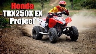 Honda Trx250x 250ex Upgrade Project For The Trail