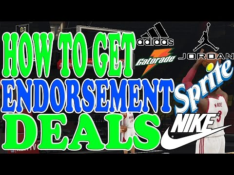 NBA 2K15 Tips and Tricks - How to Get Endorsement Deals in My Career