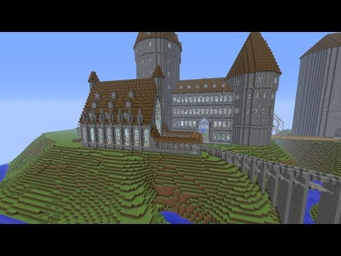Minecraft: How to make a Portal to Harry Potter World - (Minecraft Portal to Hogwarts) - PARODY