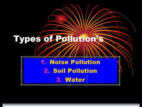 Types of Pollutions