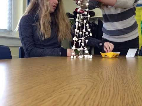 Toothpick Tower Time lapse