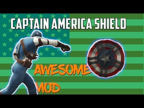 ★GTA 5 - Captain America's Working Shield [Mod Showcase]