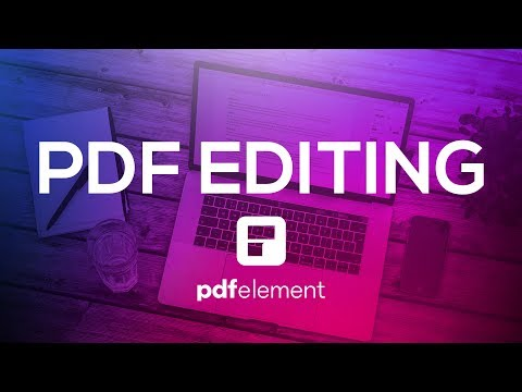 Edit PDF Like Never Before | Create Fillable PDF Forms on Your Mac with PDFelement 6
