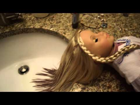 How to remove hair dye from your dolls hair||MuseAG