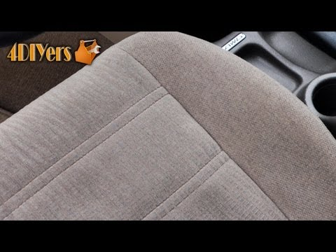 DIY: Automotive Upholstery Shampooing