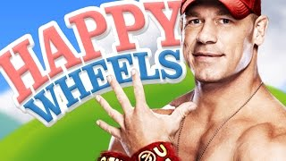 And His Name Is John Cena! - Happy Wheels (funny Moments)