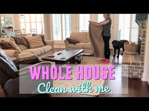 ULTIMATE CLEAN WITH ME | MAJOR CLEANING MOTIVATION | WHOLE HOUSE CLEANING