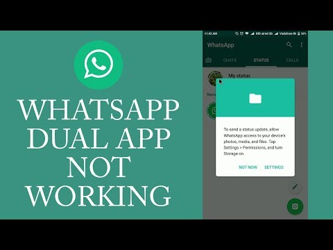 Whatsapp Dual App Not Working - Miui 8 Dual App storage Problem Solved