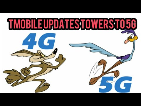 T-Mobile upgrades towers, from 4g to 5g