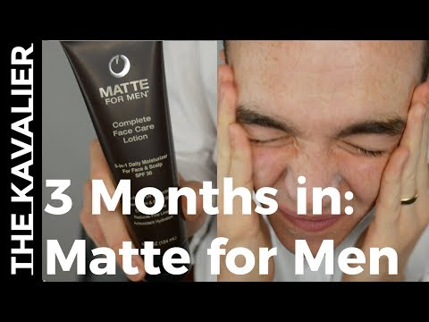 Oily Skin? Here is Your Fix: Matte for Men | 3 Month Review