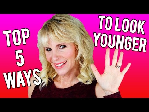 52 Year Old Woman's Top 5 Ways to Look Younger