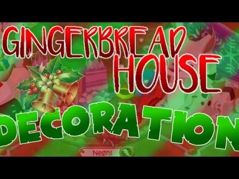 Animal Jam: Gingerbread House Den Decoration {Merry Christmas!}
