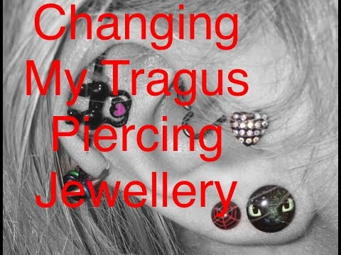 How To | Changing Tragus Piercing