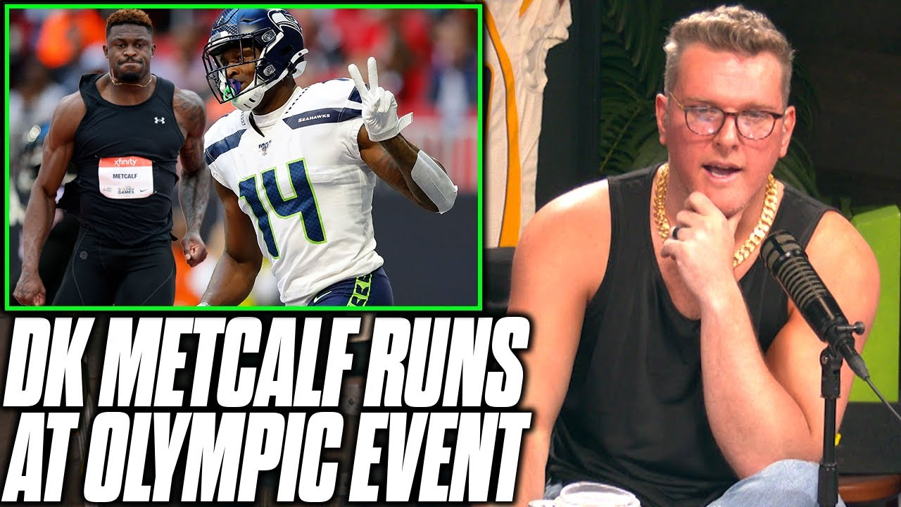 Pat McAfee Reacts To DK Metcalf's Olympic Track Trial