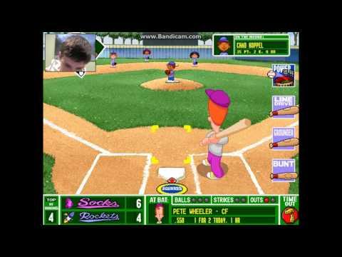 Let's Play: Backyard Baseball - Part 11 | ALUMINUM POWER BAT