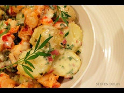 lobster potato salad with tarragon mayonnaise recipe