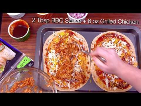 BBQ Chicken Pizza - Flatbread Recipes - Flatout Bread