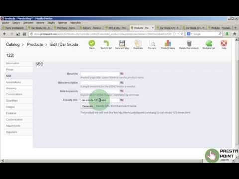 Clean URL without ID, Free Prestashop Module