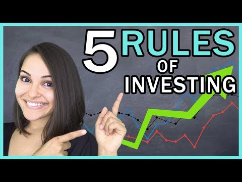5 RULES of Investing!!!
