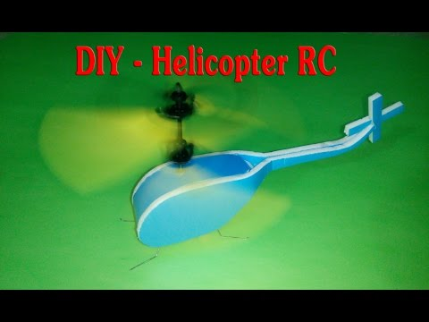 [Tutorial] DIY - How To Make Helicopter RC Mini from minion flying