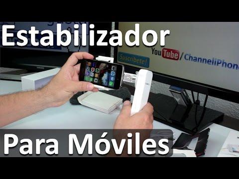 Estabilizador de video para Móviles iPhone 6 Plus/6s/5s/4s - Steadycam para celulares