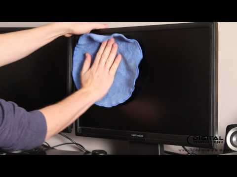 How to Clean a Computer Monitor Screen