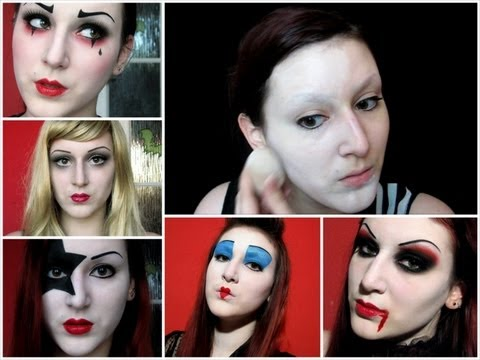HOW TO: Flawless White Face - Halloween / Costume Makeup