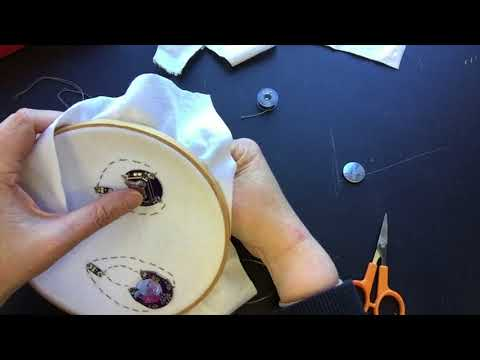Lilypad Basics - An Introduction to Electronics Sewing