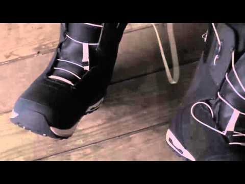 Burton Speed Zone Snowboard Boot Lacing 2013