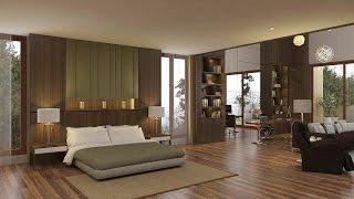 Sketchup Bedroom Interior Build + Vray Render