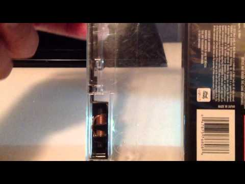 How to open a dvd security case