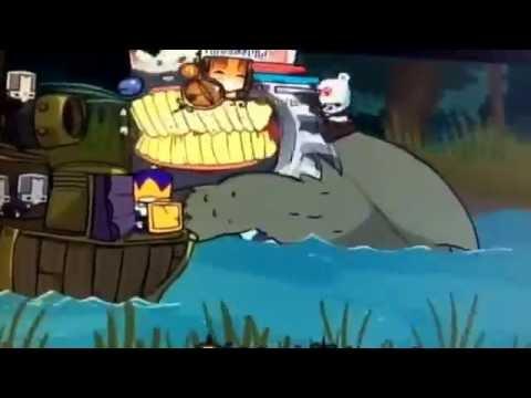 Castle Crashers | 3 CAT FISH MONSTER