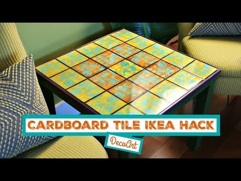 HOW TO: Tiled IKEA Table