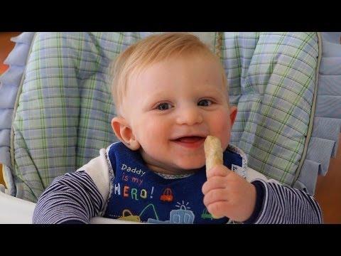 1 minute homemade teething cookies recipe - baby food +6M