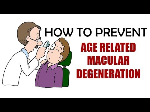 HOW TO PREVENT AGE RELATED MACULAR DEGENERATION