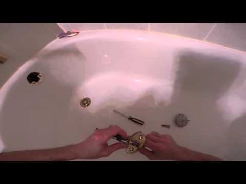 How To Replace a Trip Lever Bathtub Drain Cover