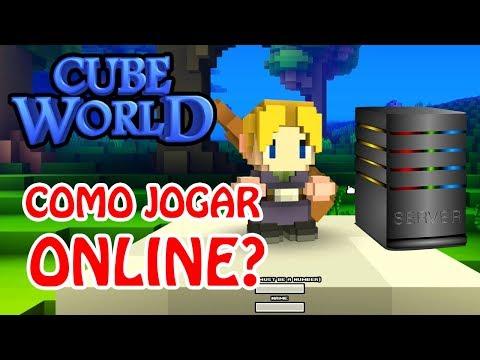 Como Jogar Cube World Online (Server Local, Hamachi e Dedicado) Jogar Multiplayer