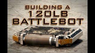 Battlebot Build - MANDiii, 120 lb Drum Spinner