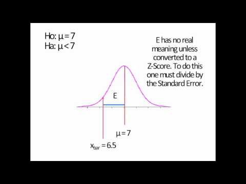 Statistics - 6 - Hypothesis Testing - 8 - Calculating the Test Statistic