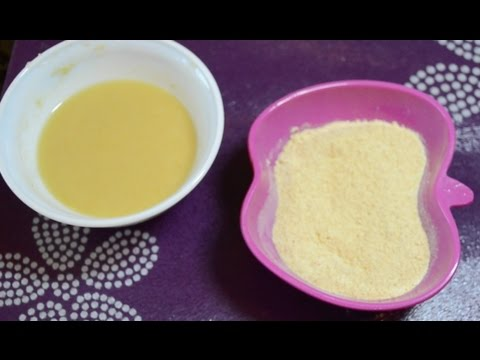 Homemade  baby food/Make Instant Khichdi Cereal/ Dal Rice Cereal (6 - 9 months)