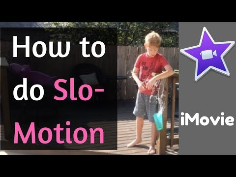 iMovie Editing Tips | How To Do Slo-Motion